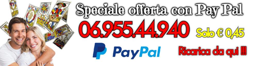 cartomanzia pay pal